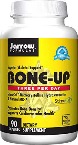 Jarrow Formulas Bone-Up Three Per Day, Promotes Bone Density, 90 Caps