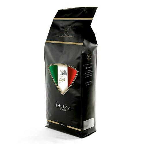 Caffe Torelli Italian Espresso Coffee Beans (1kg Bag) by Marco Costa