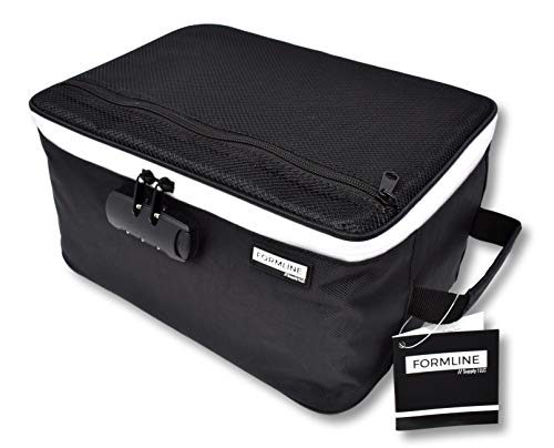 Formline Supply Extra Large Smell Proof Case with Combination Lock (12' x 9' x 6') - Premium Odor Proof Bag and Container Designed to Store and Preserve All Your Accessories(Black, Extra Large)