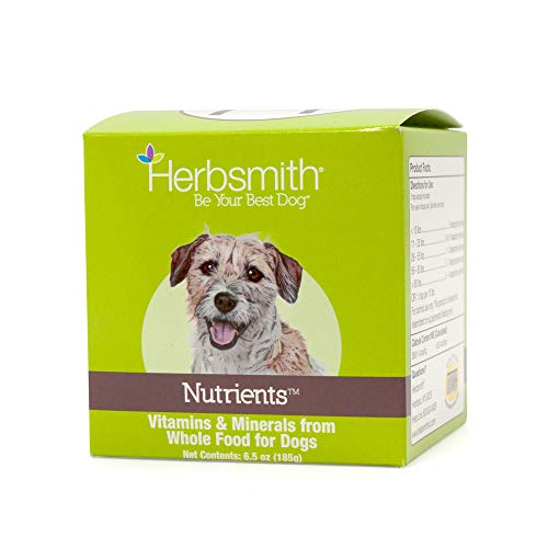 Herbsmith Nutrients - Vitamins and Minerals from Whole Foods - Dog Nutrients - Added Nutrition for Dogs - 6.5 oz