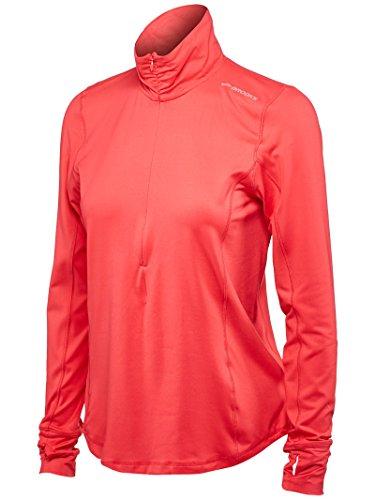 Brooks Damen Laufshirt Dash Half-Zip Pink - 220977-603 (M)