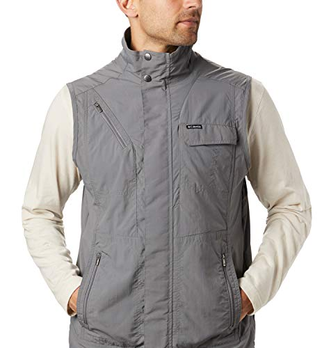 Columbia Men's Vest, Silver Ridge II