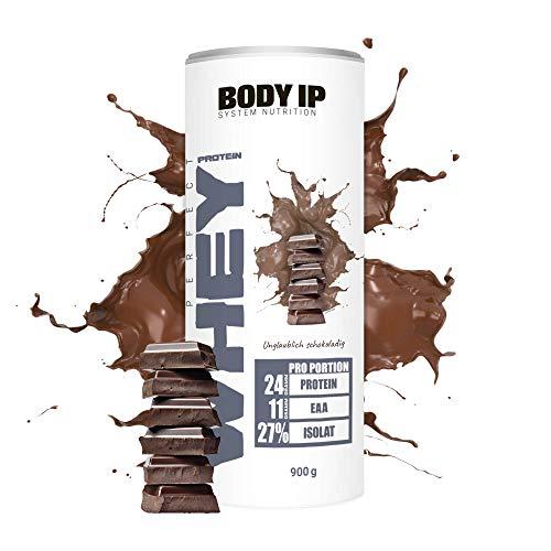 BODY IP Simons Perfect Whey Protein | Eiweißpulver für den Muskelaufbau | Unglaublich schokoladig | hoher BCAA und EAA Anteil | 30 Portionen