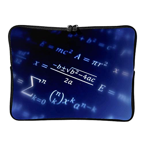 5 Sizes Funny Mathematical Formula Quadrant Laptop Bags Casual Wear Resistant Love Maths Laptop Sleeve Suitable for School