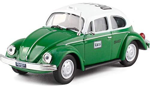 Nobranded Käfer Garbus Mexiko Volkswagen Käfer Mexiko Taxi Metall Auto Modellkollektion Spielzeug