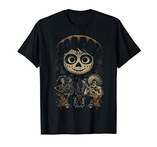 Disney Pixar Coco Dancing Group Portrait Camiseta