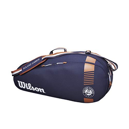 Wilson Schlägertasche Roland Garros Team, Bis zu 3 Schläger, Blau, WR8006801001