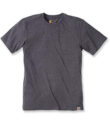 Carhartt 101124 Maddock Short-Sleeve T-Shirt, Carbon Heather, Small