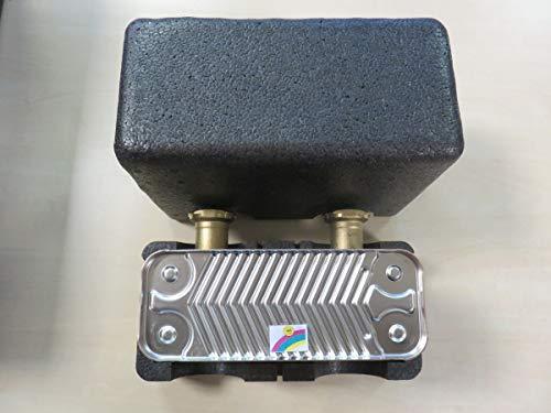 Oventrop Plattenwärmeübertrager Regumat mit Anschlussarmatur 30 Platten bis 28 kW 1351696