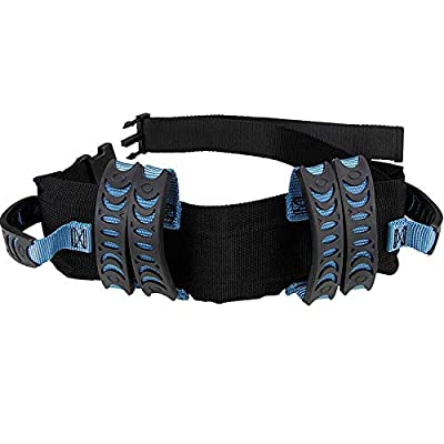 Gait Belt Walking Transfer belt with 6 Plastic Padded Caregiver Handles and Quick Release Buckle for Patient,Elderly Physical Therapy