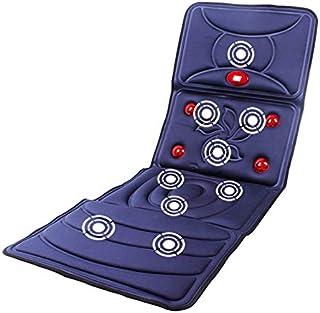 Colchón de masaje multifuncional con infrarrojos lejanos, cuello y cintura, cojín de vibración de cuerpo completo, almohadilla de masaje de personas mayores de 220 V A