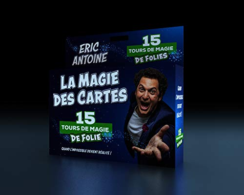 Megagic- ÉRIC Eric Antoine LA Magie des Cartes, E11, Bleu