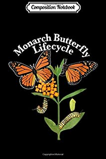 Composition Notebook: Monarch Butterfly Tee Save Monarch Butterfly Plant Milkweed