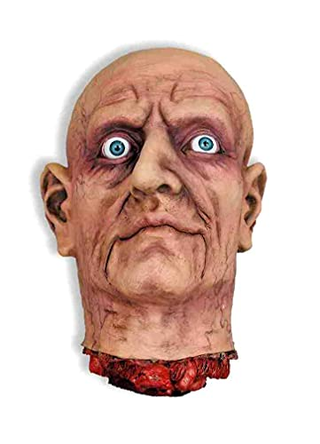 Halloween Prop Cut Off Head with Open Eye