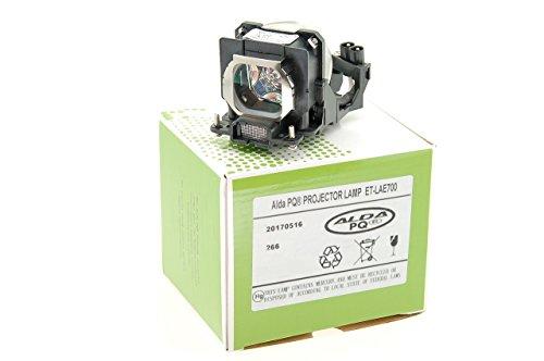 Alda PQ-Premium, Beamerlampe / Ersatzlampe für PANASONIC PT-AE700E Projektoren, Lampe mit Gehäuse