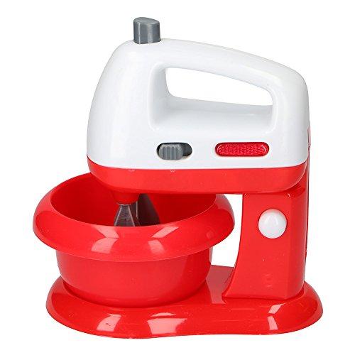 BAKAJI Impastatrice Robot da Cucina Giocattolo per Bambini con Fruste Funzionanti e Luci