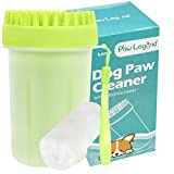 Upgrade 2 in 1 Dog Paw Cleaner & Pet Grooming Brush - Portable Pet Paw...