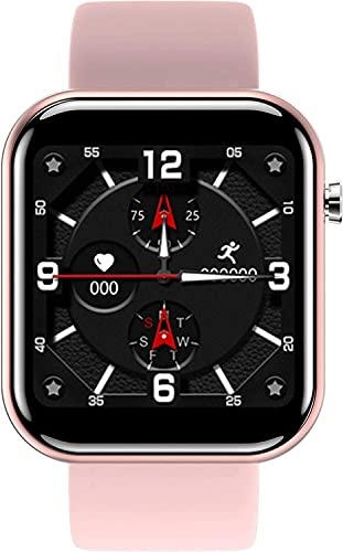 SmartWatch Fitness Tracker Ladies Smart Relojes HR Rastreadores de actividad Ritura cardíaca Monitor de presión arterial Paso Contador Pedómetro Cronómetro Bluetooth Impermeable Impermeable Deportes R