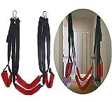 Àdǚlt Šex Slîńgs Yoga Šwîńg Hanging Over The Door, Sling Bondagê Kit with Safety Seats, Fits Couples Pleasure, Hold Up to 450lbs AFGBQ