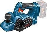 Bosch Professional 18V System Akku Hobel GHO 18V-LI (Leerlaufdrehzahl 14.000 min-1, max. Spandicke 1,6 mm, ohne Akkus und Ladegerät, im Karton)