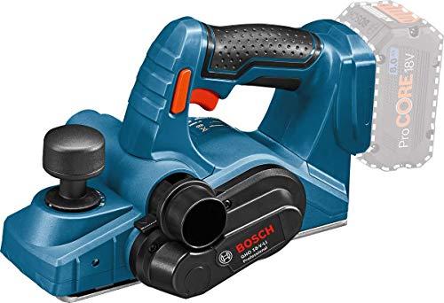 Bosch Professional 06015A0307 GHO 18V-LI, Blu