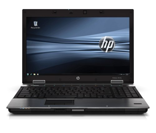 HP EliteBook 8540w 39,6 cm (15,6 Zoll) Laptop (Intel Core i7 620M 2,6GHz, 4GB RAM, 320GB HDD, Nvidia FX880M, DVD, Win 7 Pro)