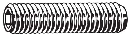 Superior 35mm Alloy Steel Set Screw Tucson Mall with Zinc Finish; M0785 PK50 - Plated