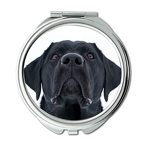 Yanteng Spiegel, Compact Spiegel, Hund Das Tierreich Cute Pet Säugetiere, Taschenspiegel, Tragbare Spiegel