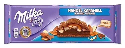 Milka Mandel Karamell, 300 g