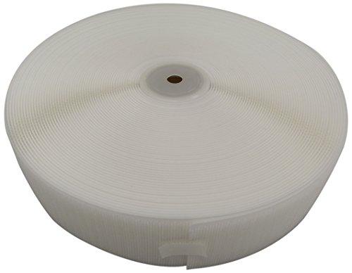 クラレファスニング エコマジックテープ A面 フック A8693Y.71 幅50ミリメートル×長さ25メートル 白 縫製タイプ 日本製 プロ仕様
