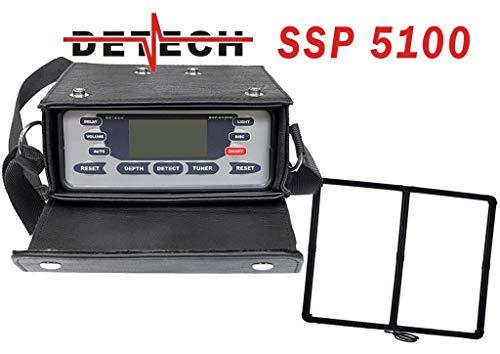 Detech SSP 5100 con Bobina Cuadrada discriminatoria de 1m x 1m incluida