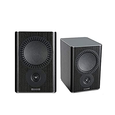 Mission QX-1 Bookshelf Speakers - Black Wood (Pack of 2) from Mission