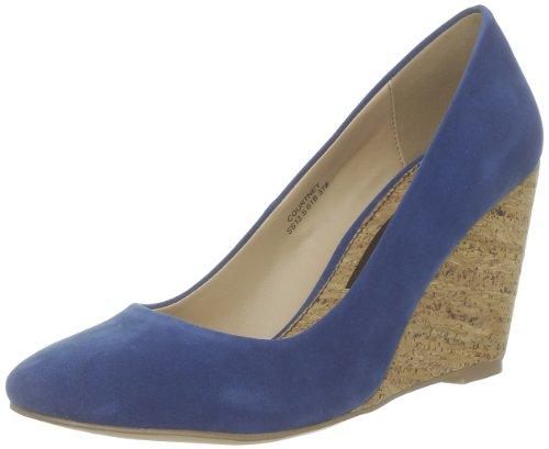 Chocolate Schubar Shoes Bleu (Cobalt Blue) EU 37