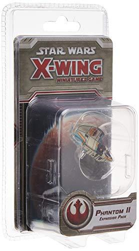 Fantasy FFGSWX72 Star Wars Phantom II - Juego de miniaturas de X-Wing, colores surtidos