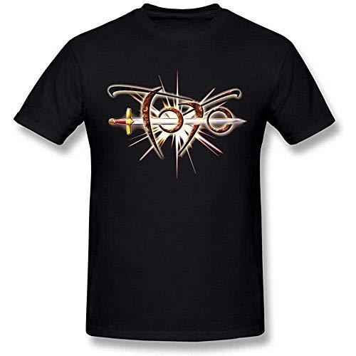 NR mannen Toto Band 35 verjaardag Logo zwart T shirt van Maven
