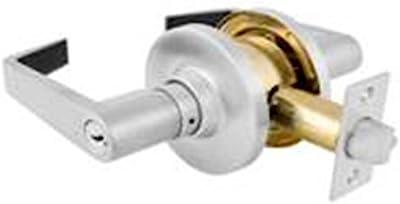 Master Lock SLNC0926DKA4 Commercial Cylindrical Lever Lockset, Brushed Chrome