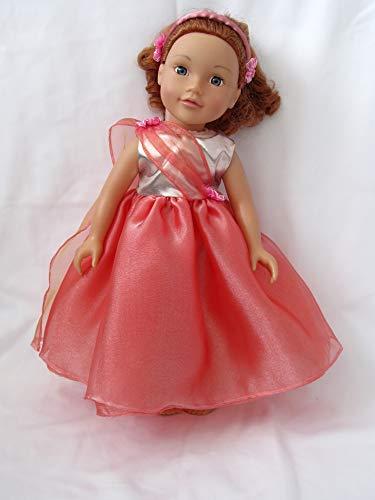 Dollies Boutique Strictly Ballroom Kleid für Designafriend Our Generation 45,7 cm Sindy American Girl Carly Cayla und andere 45,7 cm Puppen