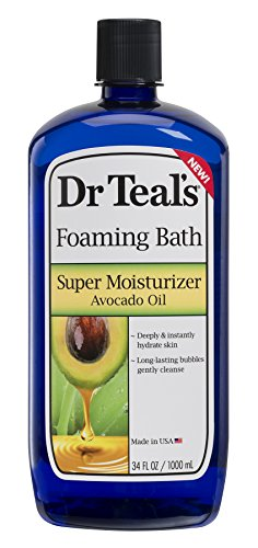 Dr Teal's Ultra Moisturizing Foaming Bath with Avocado Oil, 34 Fluid Ounce