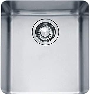 Franke KBX110-13 Kubus Undermount Steel Kitchen Sink, Stainless Steel