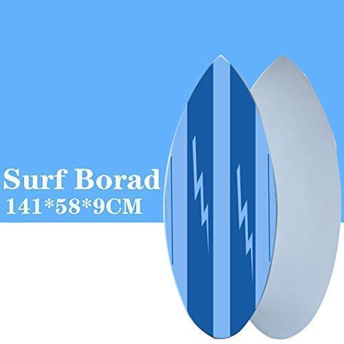 Sin Aleta Tabla de Surf Tabla de Surf Que Practica Surf en Skimboard Color Azul Tabla de Surf Permiten Tener una Gran Experiencia de Surf WTZ012