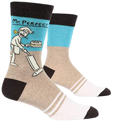 Mr. Perfect - Soft Combed Cotton Socks - Men's Crew