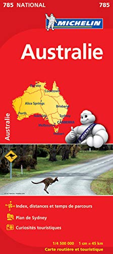 Carte NATIONAL Australie
