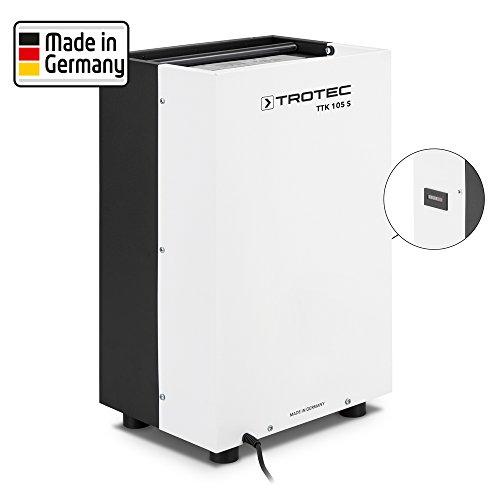 TROTEC Luftentfeuchter TTK 105 S mit Betriebsstundenzähler (max. 30 Liter/Tag) Entfeuchter Raumentfeuchter Trockner Trocknung Kellerentfeuchter