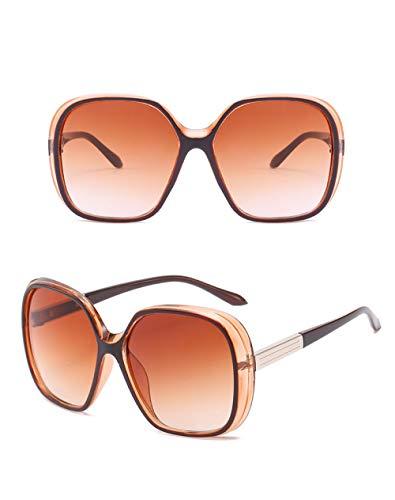 Gafas De Sol Hombre Mujeres Ciclismo Gafas De Sol con Montura Grande De Moda para Mujer, Lentes Graduadas, Gafas De Sol De Viaje-Bj5110-C3