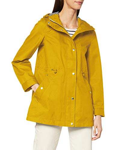 Tom Joule Damen Shoreside Regenjacke, Antique Gold, 12