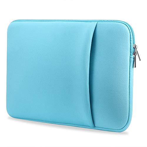 B2015 Laptop Sleeve Soft Pouch 11'' Laptop Bag Replacement for MacBook Air Pro Ultrabook Laptop Blue