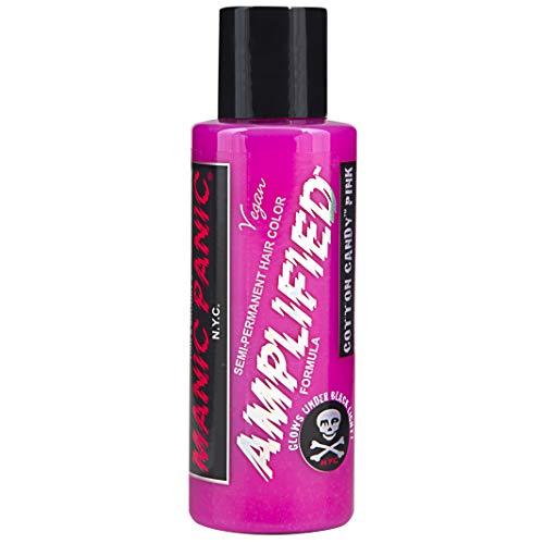 MyPartyShirt Cotton Candy Pink Manic Panic 4 Oz Hair Dye