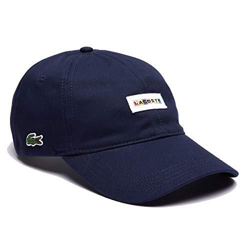 LACOSTE Men's Cotton Cap navy