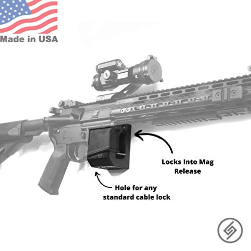 Spartan Mount for'Standard' Rifle | Display Storage Organization System | Unique Low Profile Design | Gun Safe Wall Garage | Gun Room Mounting Solution