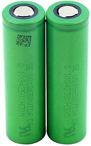 3 6V 2100mAh 18650 voltios US18650VTC4 Baterías de Litio Li-Ion Planas VTC4 18650 BATETRY 2 UNIDS